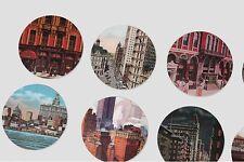 Nacoo's Kawaii Circle Label Point Sticker Set ( 48 pcs in tin case ) - New York