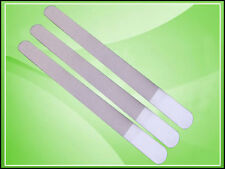 "3 x DIAMOND DEB FOOT SKIN NAIL FILE FILES STEEL 8"" - NEW"