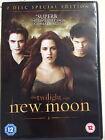 Robert Pattinson Crepúsculo: NUEVO Moon Adolescente Horror GB DISCO 2 DVD