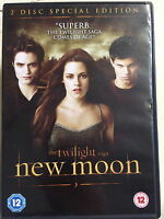 Twilight Saga Nuovo Luna DVD 2010 Vampiro Lupo Mannaro Film Horror 2-Discs