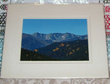 PHOTO ART PONDER POINT ARAPAHO NAT FOREST CO 5X7 MATTED 8X10 SIGNED #2/75