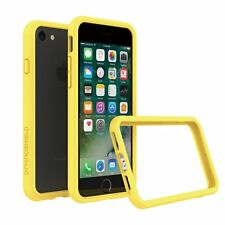 iPhone 8/7 Bumper Case RhinoShield [11 Ft Drop Tested] ShockProof Tech-Yellow
