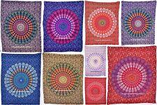 indian Mandala væg hængende bomuld borddækning lille tæppe etnisk yoga matta Art