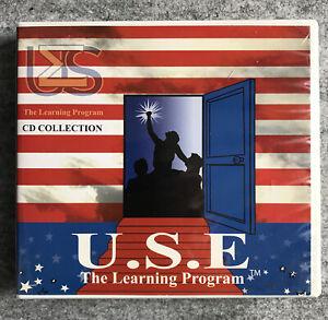 U.S.E. The Learning Program : English for Spanish Speakers : 12 DVD set