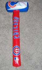 """NEW Chicago Cubs HUGE Vinyl Inflatable Baseball HAMMER SLEDGEHAMMER 33"""" LONG!"""