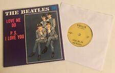 The Beatles / Love Me Do / 2019 Tollie 45rpm ERROR Ringo on Drums (Spizer) Mint!