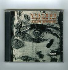 CD KALEVI KIVINIEMI VISIONS FINNISH ORGAN MUSIC (FINLANDIA)