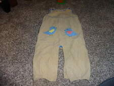 BABY MINI BODEN 18-24 BIRD OVERALLS OUTFIT