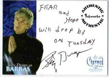 Charmed Conversations Auto Card A5 Billy Drago as Barbas [ variant 1 ]