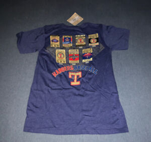 Majestic TEXAS RANGERS PLAYOFFS TICKETS Reserved Tickets 1993 - 2011 T-Shirt