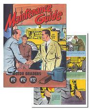 Caterpillar Maintenance Guide Graders No 12, 112, 212