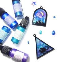 ALS_ 10g UV Resin Epoxy Glitter Pearlescent Powder Pigment DIY Craft Accessories