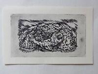 Georg Tappert (1880-1957) Kunstdruck von Radierung von 1917: Grablegung (03