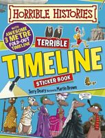 Terrible Timeline (Horrible Histories Sticker Ac, Deary, Terry, New