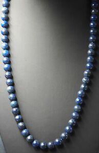 Lapis Lazuli Beaded Womens Strand Necklace Fine Fashion Jewelry