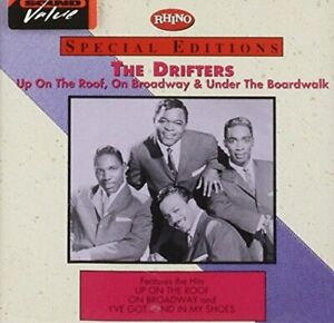 Drifters Up on the roof, On Broadway & Under the boardwalk (10 tracks, Rh.. [CD]