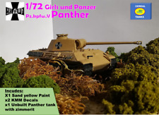 1/72 Girls und Panzer - Pz.kpfw.V Panther- Custom model by Cereal Tanks