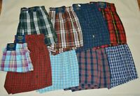 Polo Ralph Lauren Men's Underwear Classic Fit Woven Boxers Cotton Short S M L XL