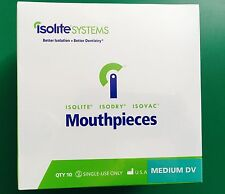 Isolation Dental Mouthpieces Medium DV Sizes for Isolite Isodry Systems (10/pk)