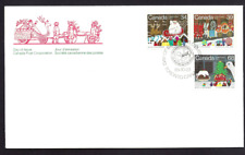 Canada  # 1067 -1069 Combo  SANTA CLAUS PARADE    New 1985 Unaddressed Cover