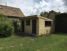 15ftx15ft 4.5mx4.5m Insulated Cabin Office, Summerhouse, Mancave, Guest Bedroom
