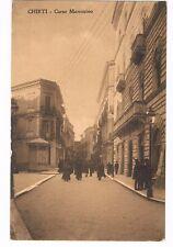 chieti corso marruncino viaggiata 1913