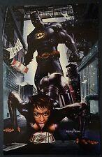 Batman Cat Woman Signed Greg Horn Print