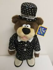 VINTAGE 1994 The Petting Zoo BEAR Musical Singing dancing TUXEDO Hat outfit Rare