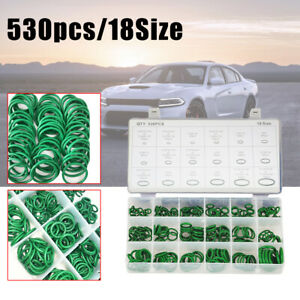 530 x Car O Ring Seal R134a Universal Auto Air Conditioning Rubber Gasket Kits