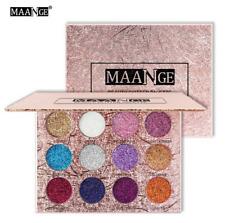 12Colors Eyeshadow Press Shiny Shimmer Glitter&Matte Eye Makeup Beauty Cosmetic