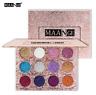 12 Farben Eyeshadow Lidschatten gleam Palette Augen Puder Makeup Kosmetik HJ