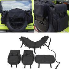 Fit For Suzuki Jimny 2019-2020 Black Car Spare Tire Storage Bags Cargo Organiser