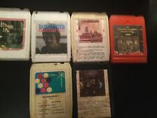 Lot of 24 8-track tape rock foghat, McCartney,Steppenwolf, steely dan