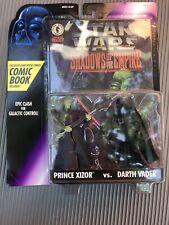 STAR WARS Shadows of the Empire PRINCE XIZOR VS. DARTH VADER ACTION FIGURES 1996
