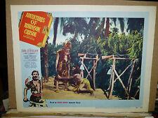 ADVENTURES OF ROBINSON CRUSOE, orig 1954 LC #4 (Dan O'Herlihy, James Fernandez)