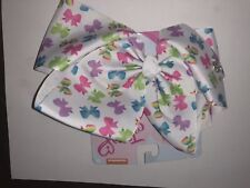 NWT AUTHENTIC JoJo Siwa LARGE RAINBOW BOW POWER BOWS ON BOW perfect SPRING TIME