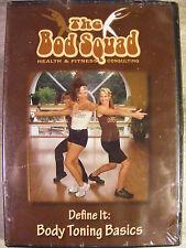 The Bod Squad - Define It: Body Toning Basics (DVD, 2007) New