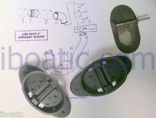 Kit 2 clapets anti-retour coude échappement MERCRUISER V6 V8 GM Alpha & diesel