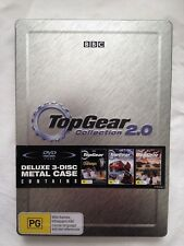 Top Gear Collection 2.0 DVD 3 Discs in Deluxe Metal Case in excellent condition