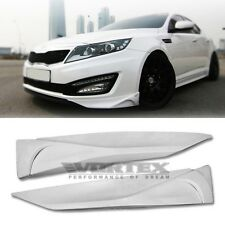 Front Bumer Wing lip Cover LH+RH ABS Material For KIA Optima K5 2011 2013