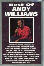 New Sealed Cassette Best Of Andy Williams Has All 6 Cadence Top 10 Hits Last One