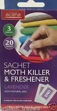 Moth killer Sachet & Freshner 20 Sachets