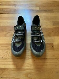 RARE Vintage Nike Carbon Poggio Road Cycling Shoes - Green/Black