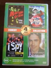 MARTIAN GO HOME, I SPY RETURNS, ACCORDING TO SPENCER, GILLIGANew Unsealed DVD R4