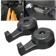 Good 2pcs Car Seat Headrest Shopping Bag Coat Hanging Holder Hanger Hook New #
