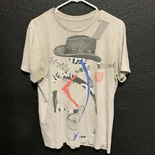"Men's Heritage 1981 Beige ""The Make Believe"" Tee Shirt Size Medium"