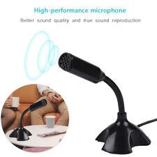 USB Tisch Mikrofon Für Computer Schwanenhals W / Ständer Für Live Streaming DE