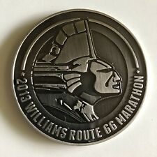 2013 Williams Tulsa Route 66 Marathon Thank You Volunteer Medal Coin