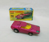 Vintage Matchbox Rolamatics No 39 Clipper Car - Made In England By Lesney & Box
