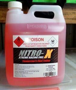 Nitro X 4 Litre Race Prep Nitro RC Fuel for RC Vehicle- Choose Blend - RC Addict